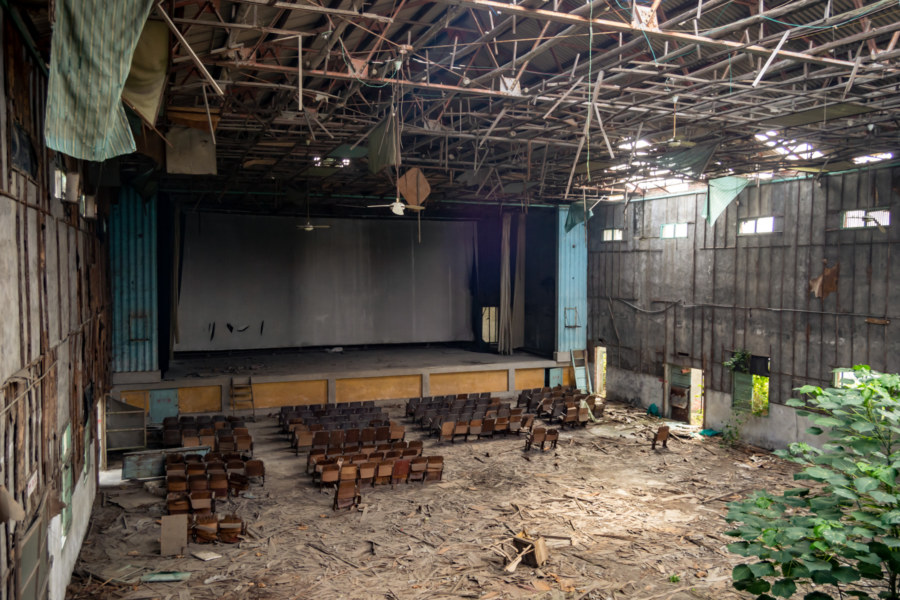 Jincheng Theater From the Projection Booth