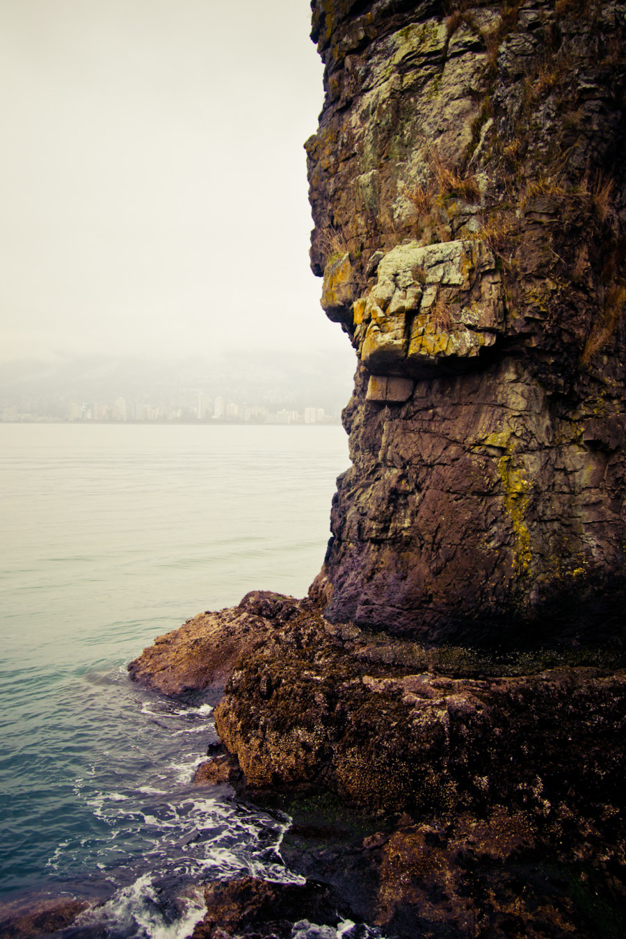 The Side Of Siwash Rock