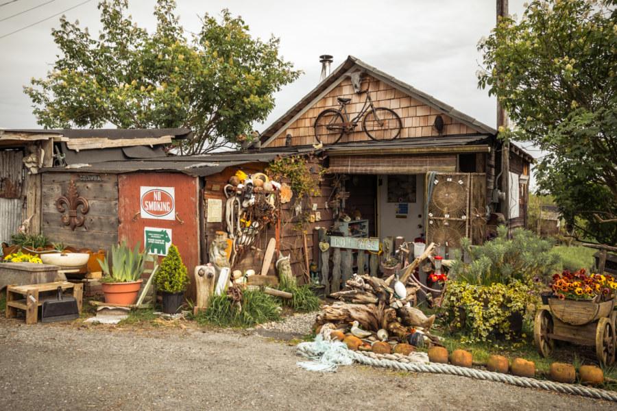 An eccentric home in Finn Slough