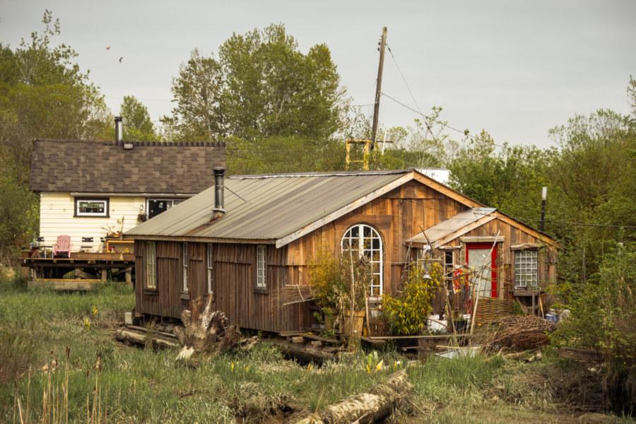 Finn Slough homes