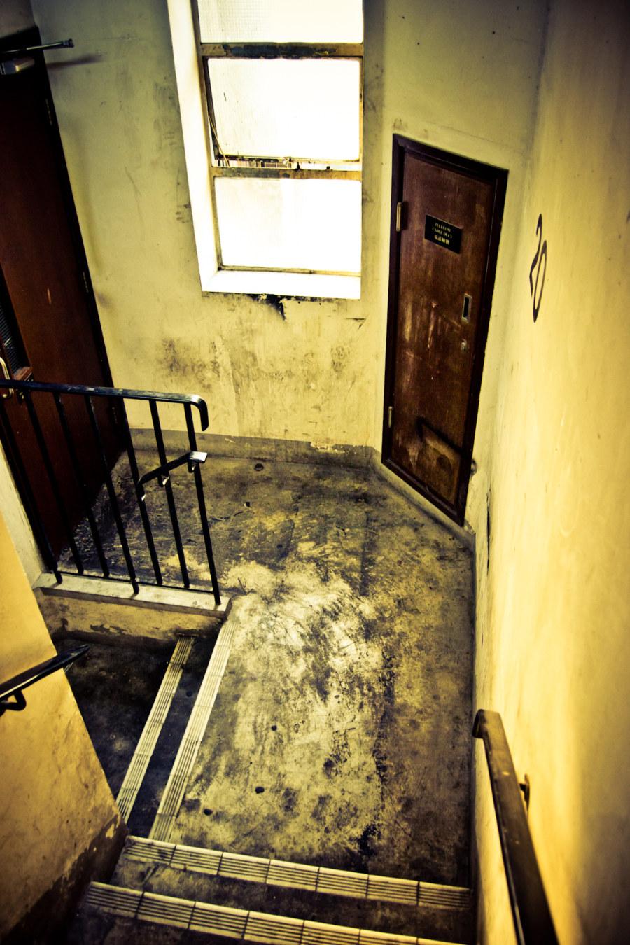 Dundas Square Stairwell