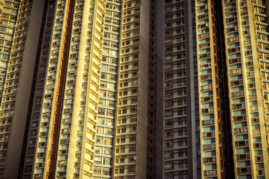 Monolithic living in Aberdeen, Hong Kong