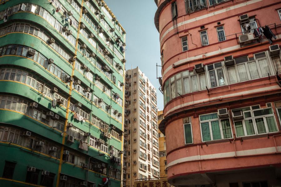 Kowloon apartment block style