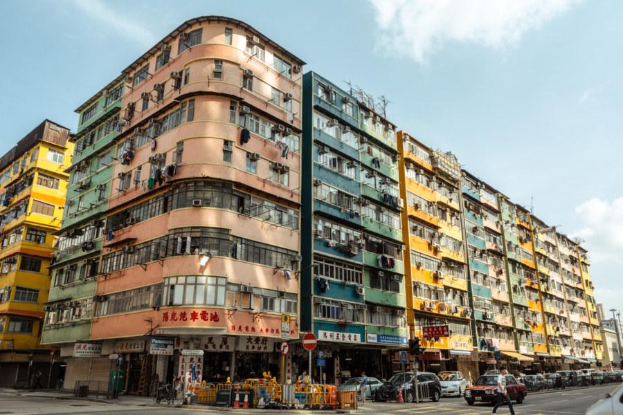 Vibrant shades of Kowloon