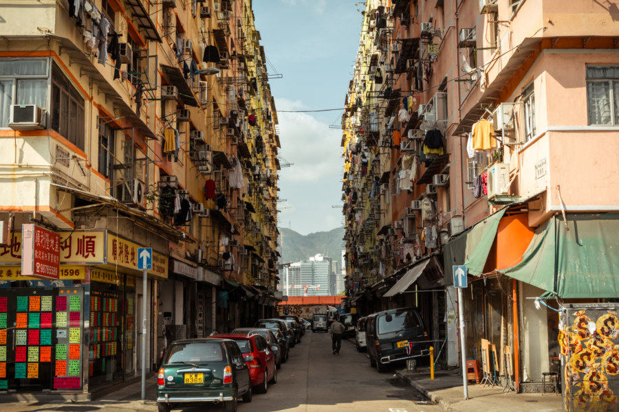 One of the 13 Streets in Kowloon