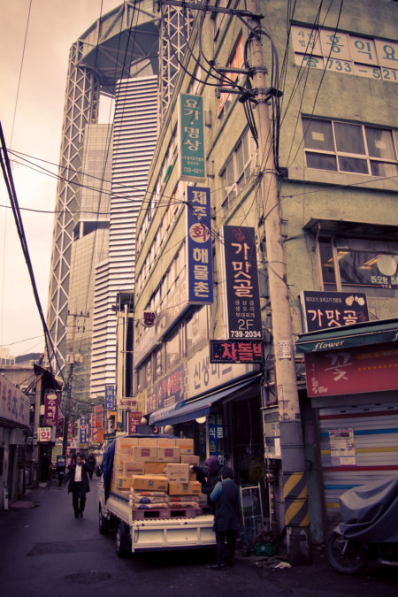 Insadong alleyways