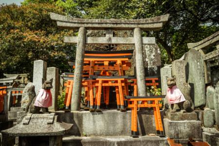 Torii shrines at Fushimi Inari Taisha