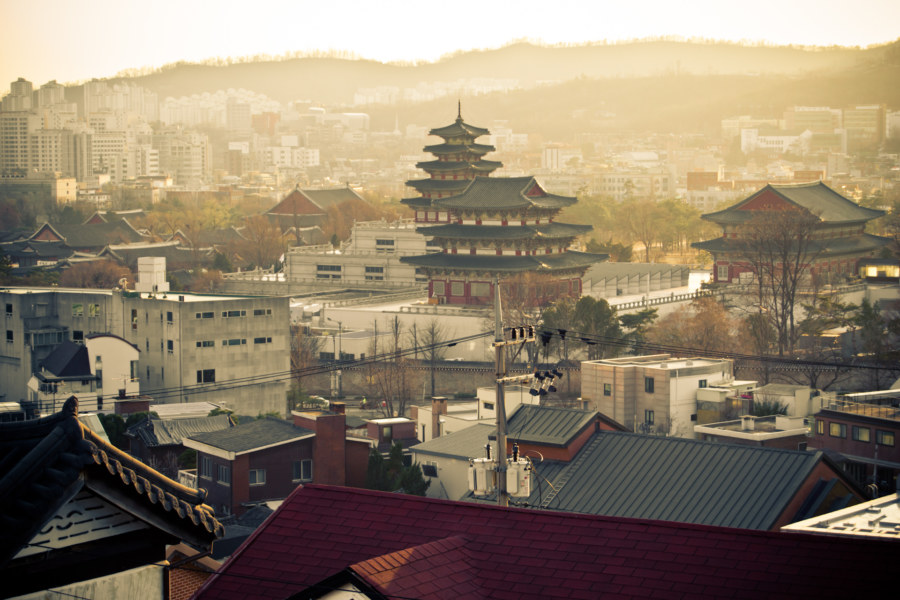The View From Bukchon Observatory