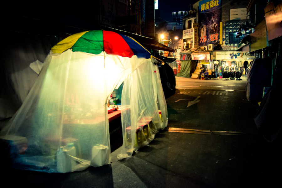 Late Night Food Tents, Seoul