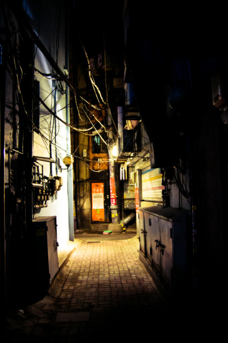 Nightly Alleyway Explorations, Seoul