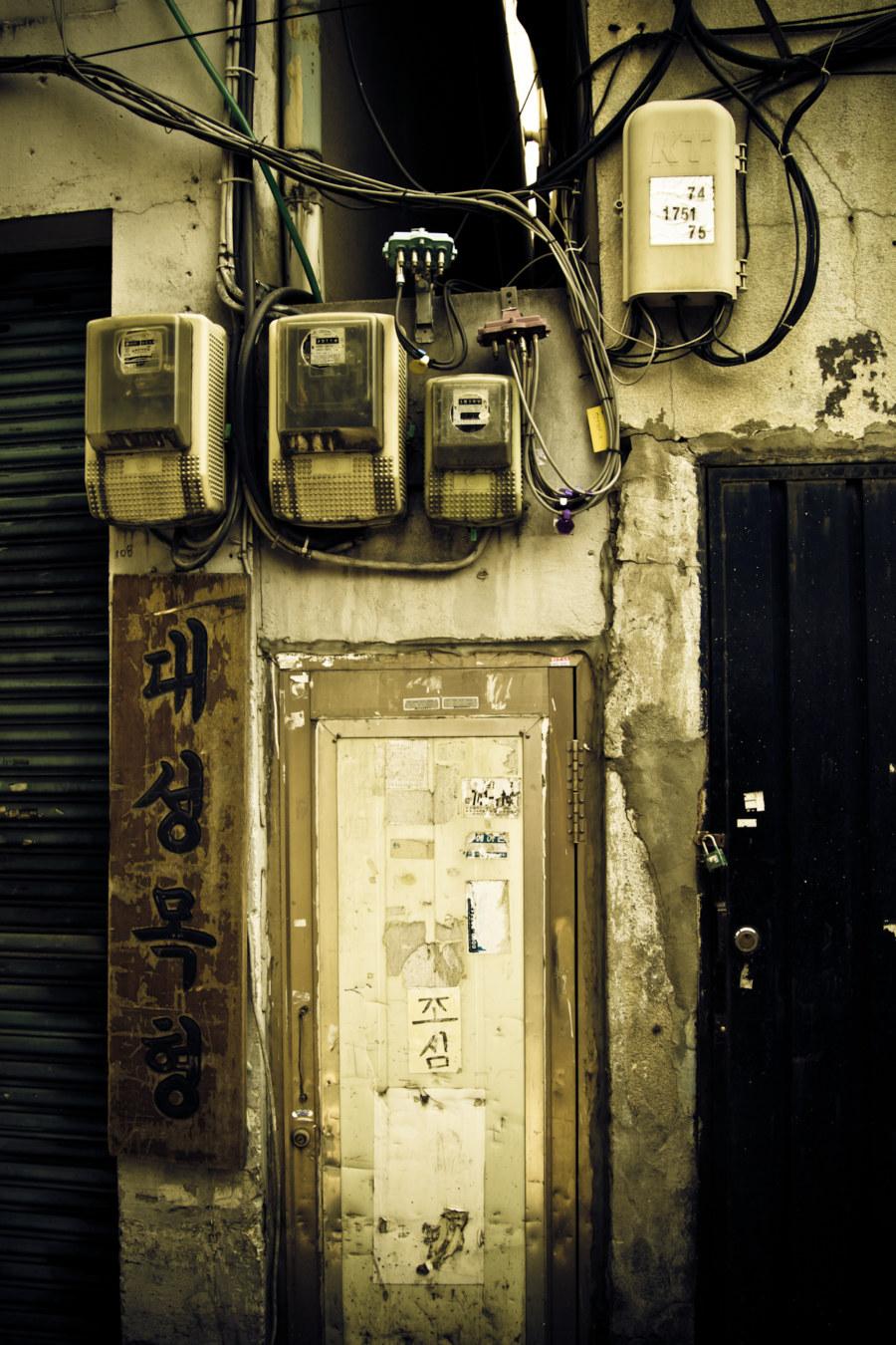 Seoul Alleyway Explorations