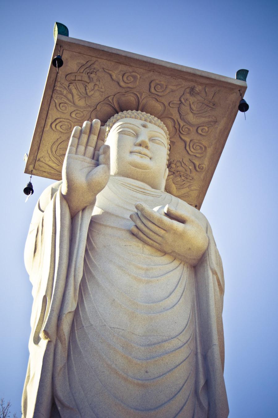 Bonguensa Temple Buddha Statue