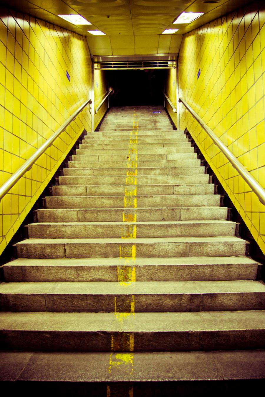 Myeongdong Stairway