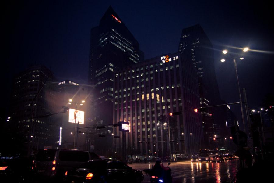 Myeongdong By Night