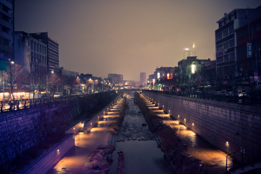Rainy Night In Seoul