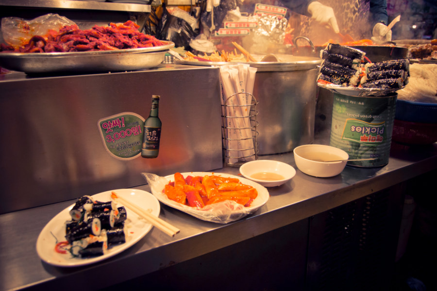 Gwangjang Food Stall