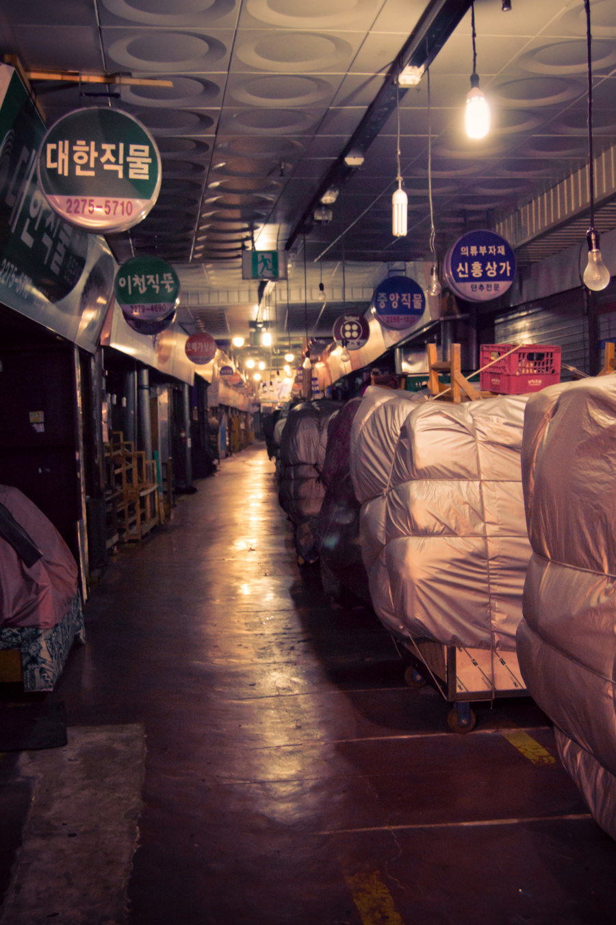 Gwangjang Market After Closing