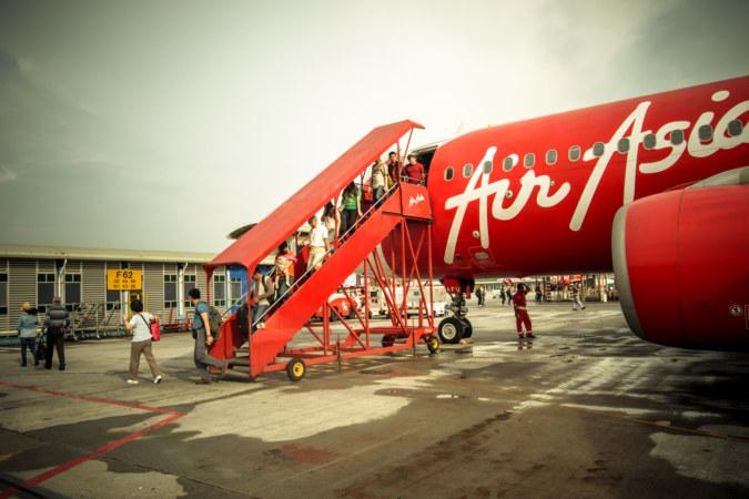 Landing in Peninsular Malaysia