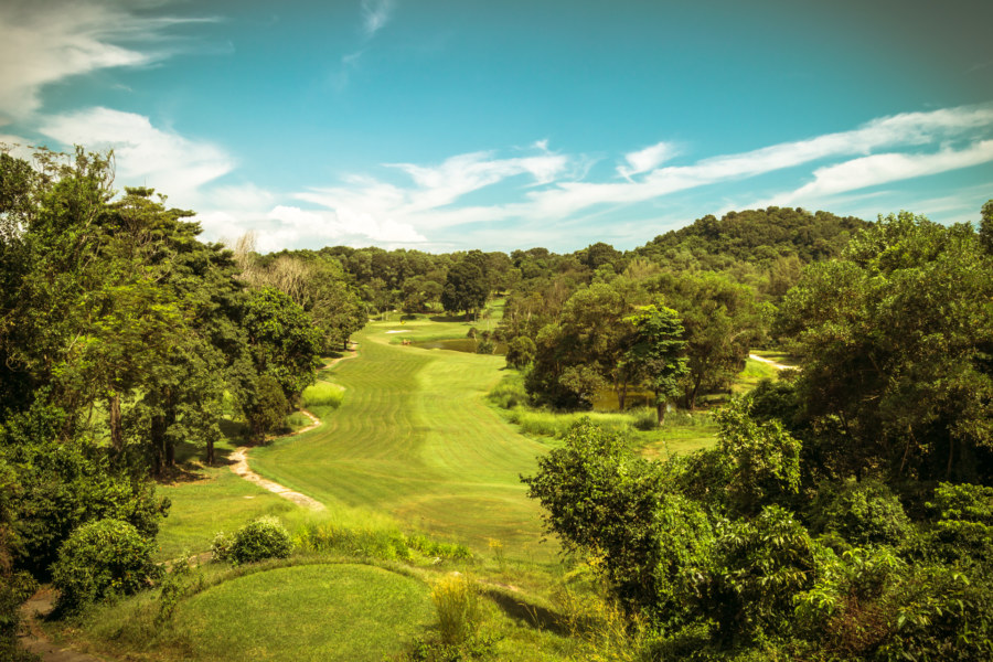 The holy fairway, Pulau Besar
