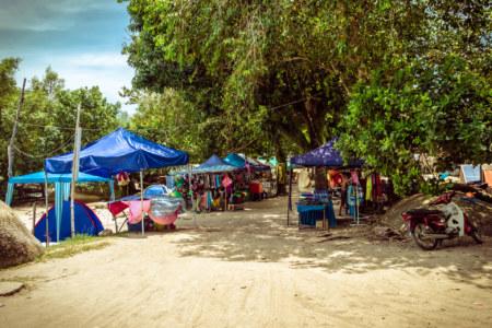 Pulau Besar bazaar