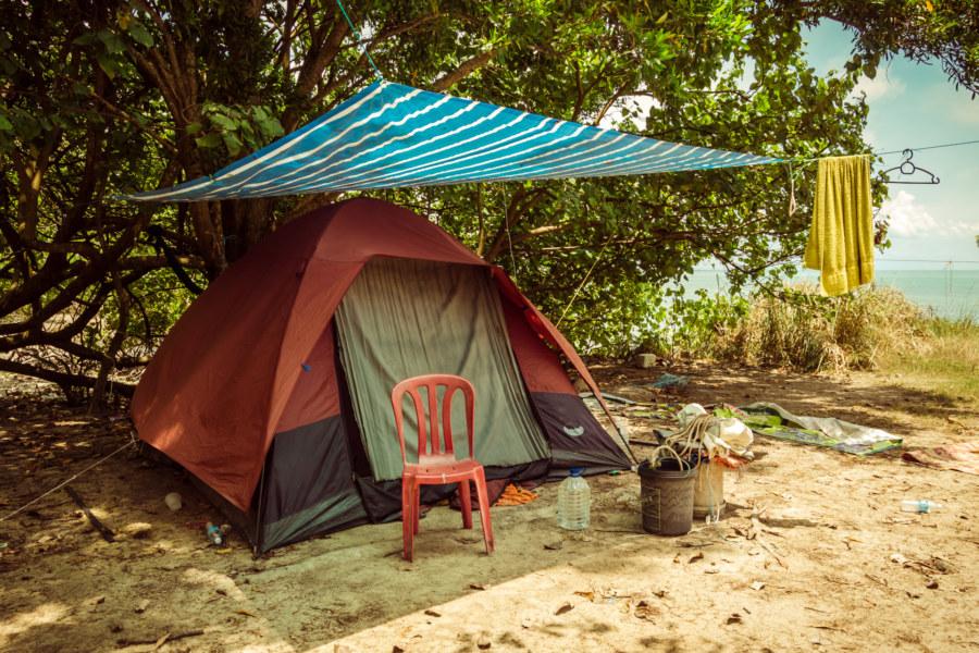 Campsite at Pulau Besar