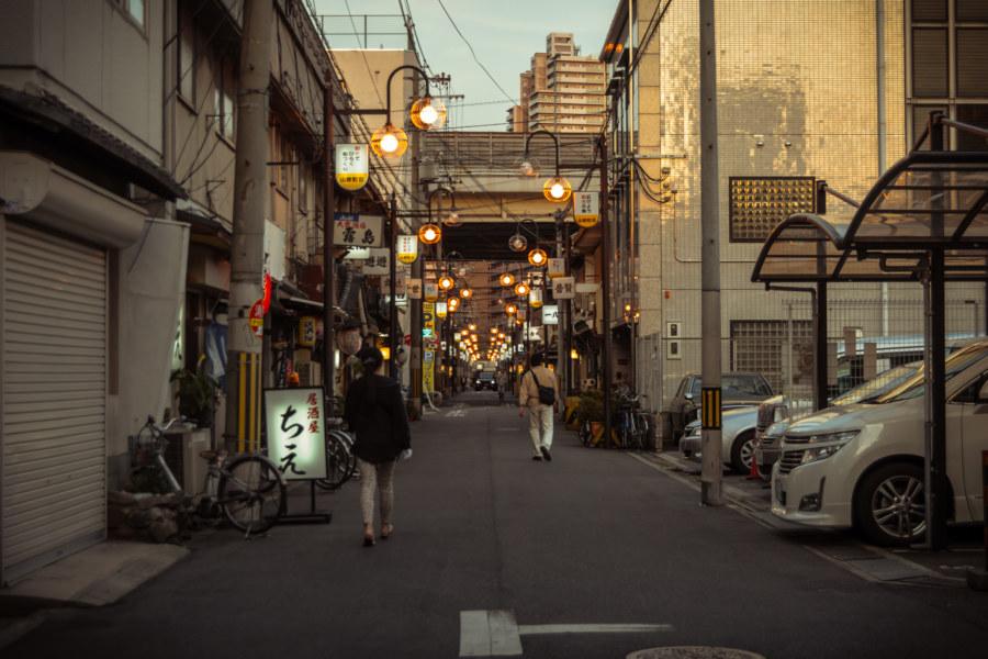 Deeper into the heart of Nishinari