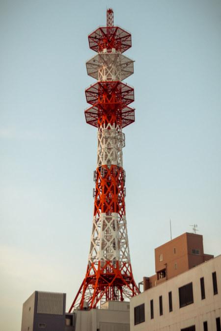 Communication tower in Nishinari