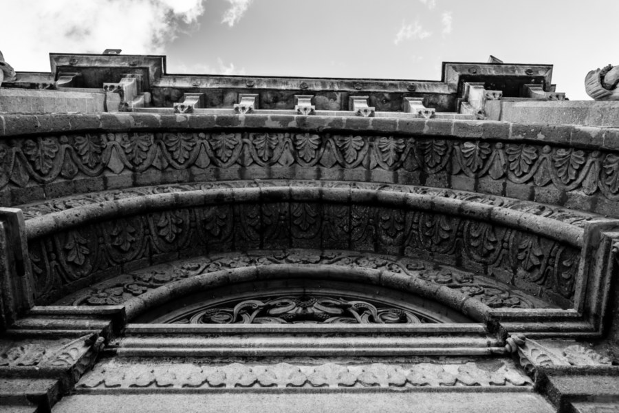 Archway detail at the Manila Cathedral