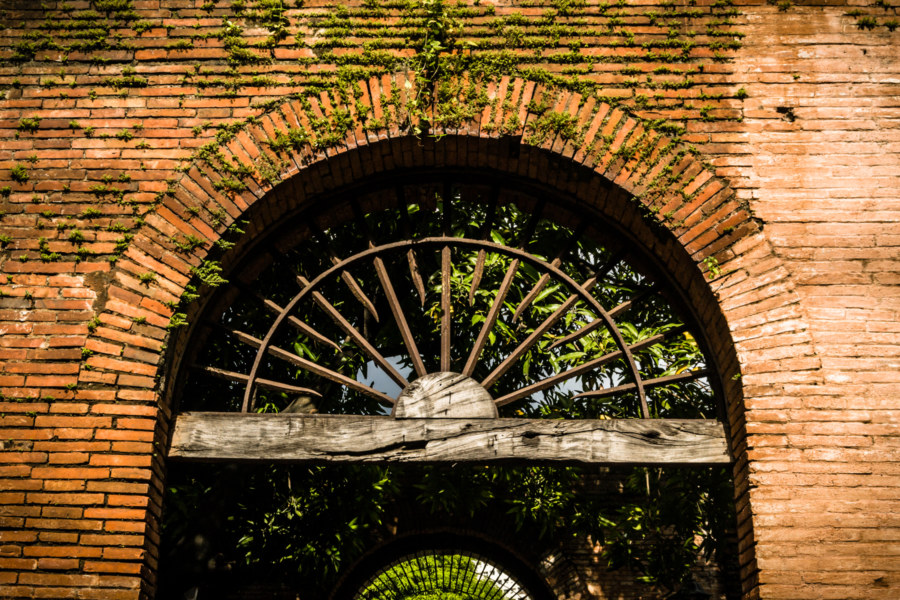Remnants of the past in Fort Santiago