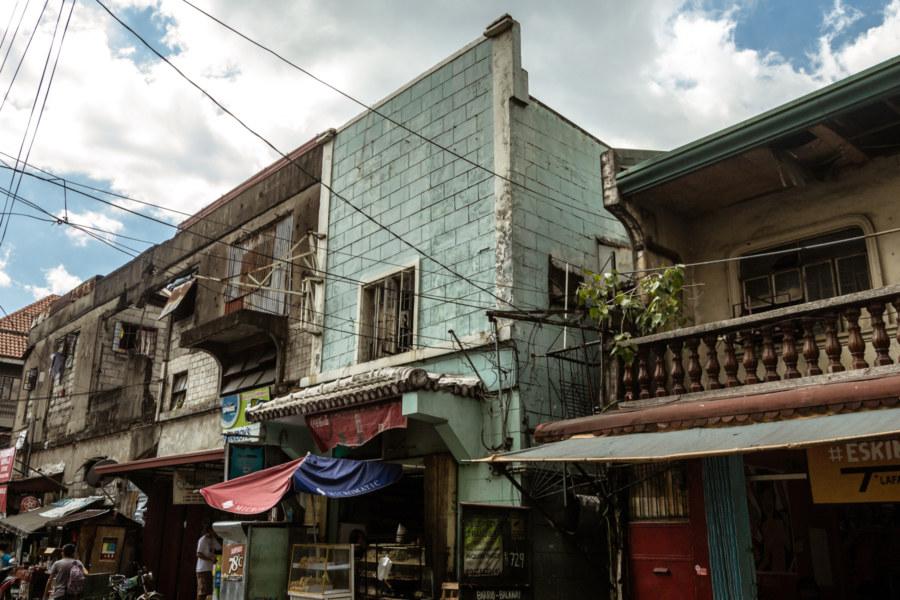 Not so old buildings in Intramuros