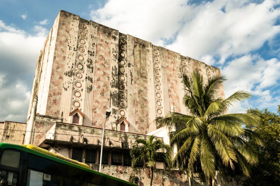 Around back at the Manila Metropolitan Theater