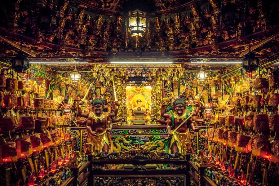 Deep inside Mazu temple