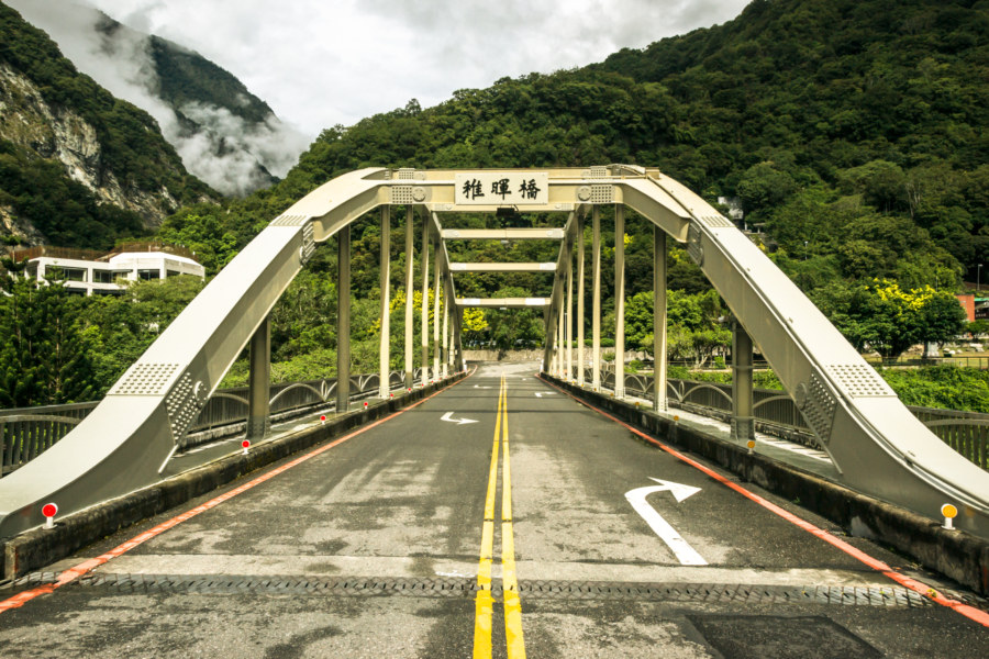 The bridge into Tianxiang