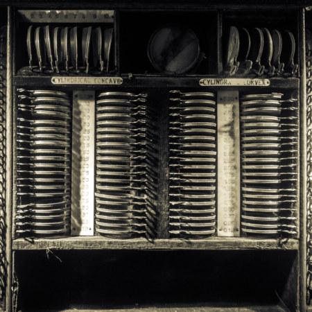 Vintage optometry kit