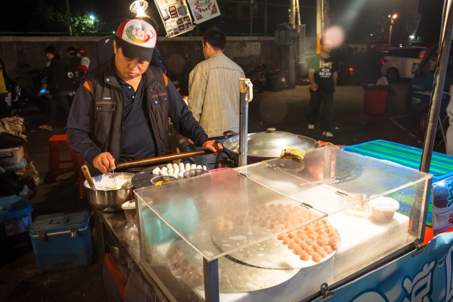 Taiwanese dessert at Jingcheng Night Market