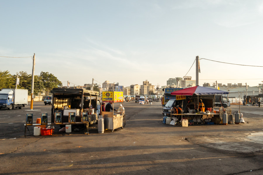 Where the night market will take shape