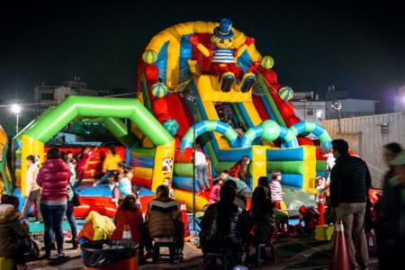 An epic ride at Jingcheng Night Market