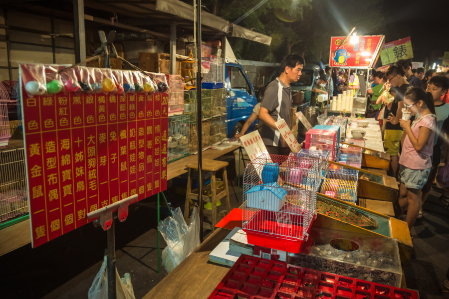 The less reputable side of night markets