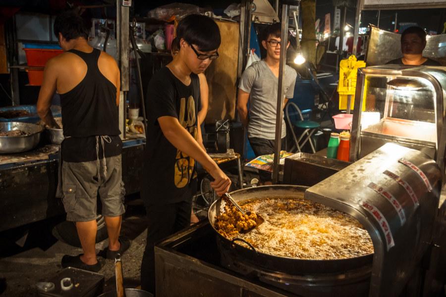 Jingcheng Night Market fried chicken