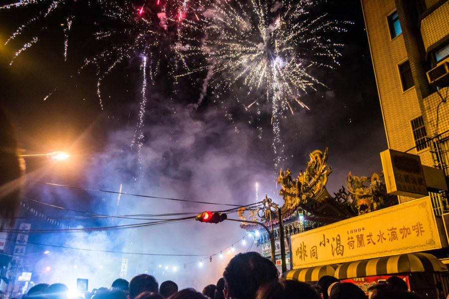 More fireworks means more Mazu