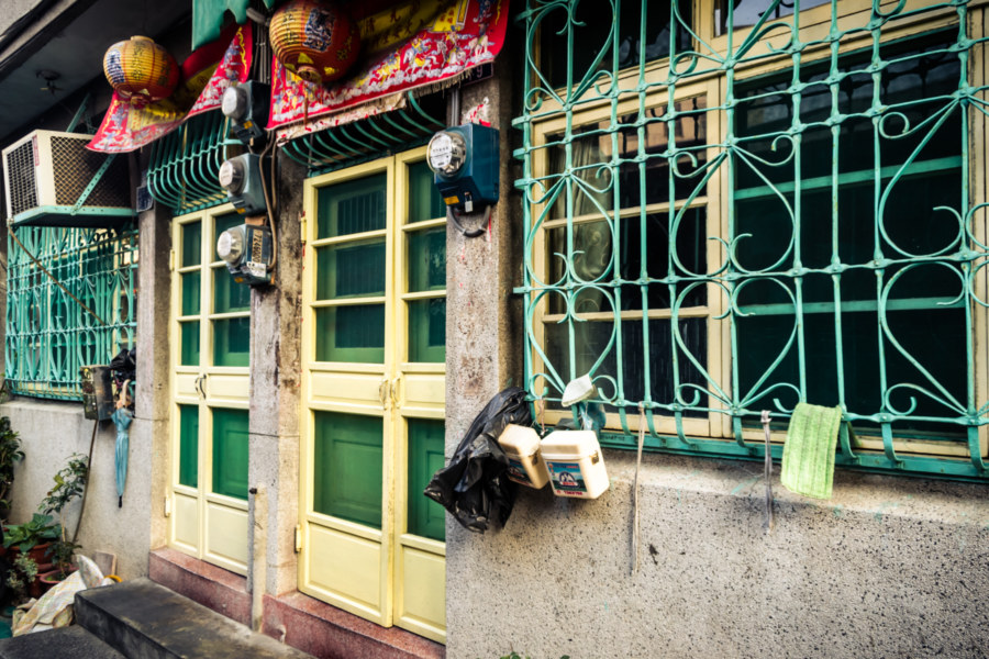 Back alley Changhua City style