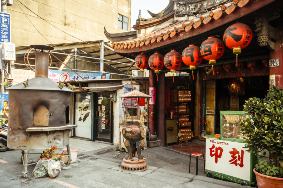 Great West Gate Land God Shrine 大西門福德祠