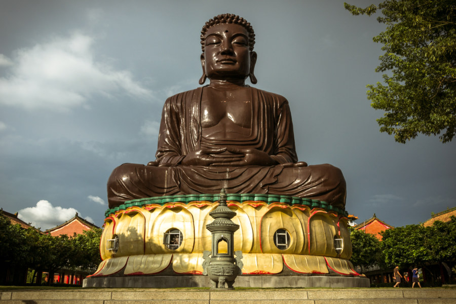 The Big Buddha of Baguashan