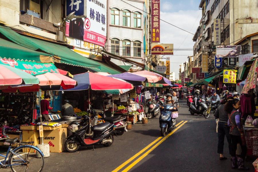 Yongan day market, Changhua City