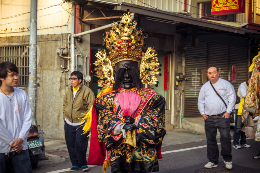 The gods walk the streets of Changhua City