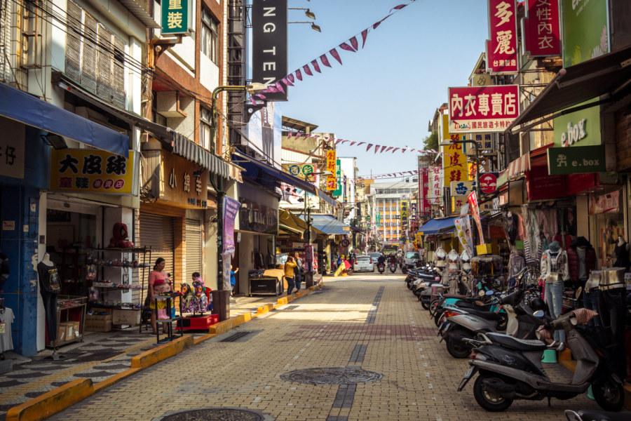 Yongle Street, Changhua City