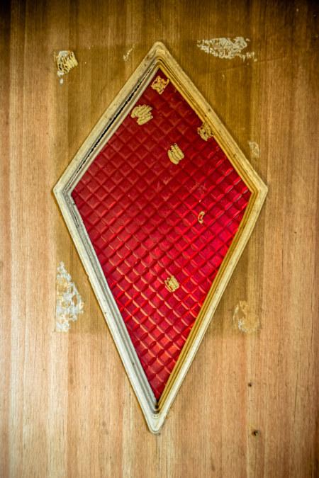 Red diamond door
