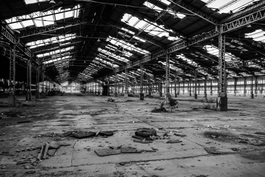 Looking back on the vast automotive plant in Dacun