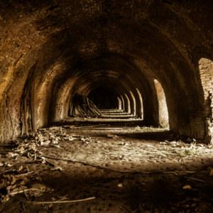 Inside the brick kiln in Huatan Township