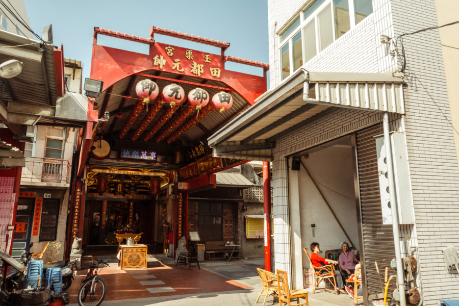 Yuqu Temple 玉渠宮, Lukang